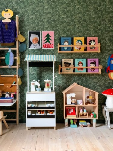 This Kid's Wall Unit Is Meant to Be Climbed On—And More