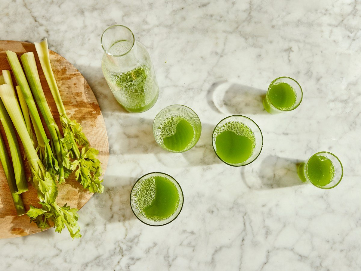 Why Is Everyone Drinking Celery Juice?
