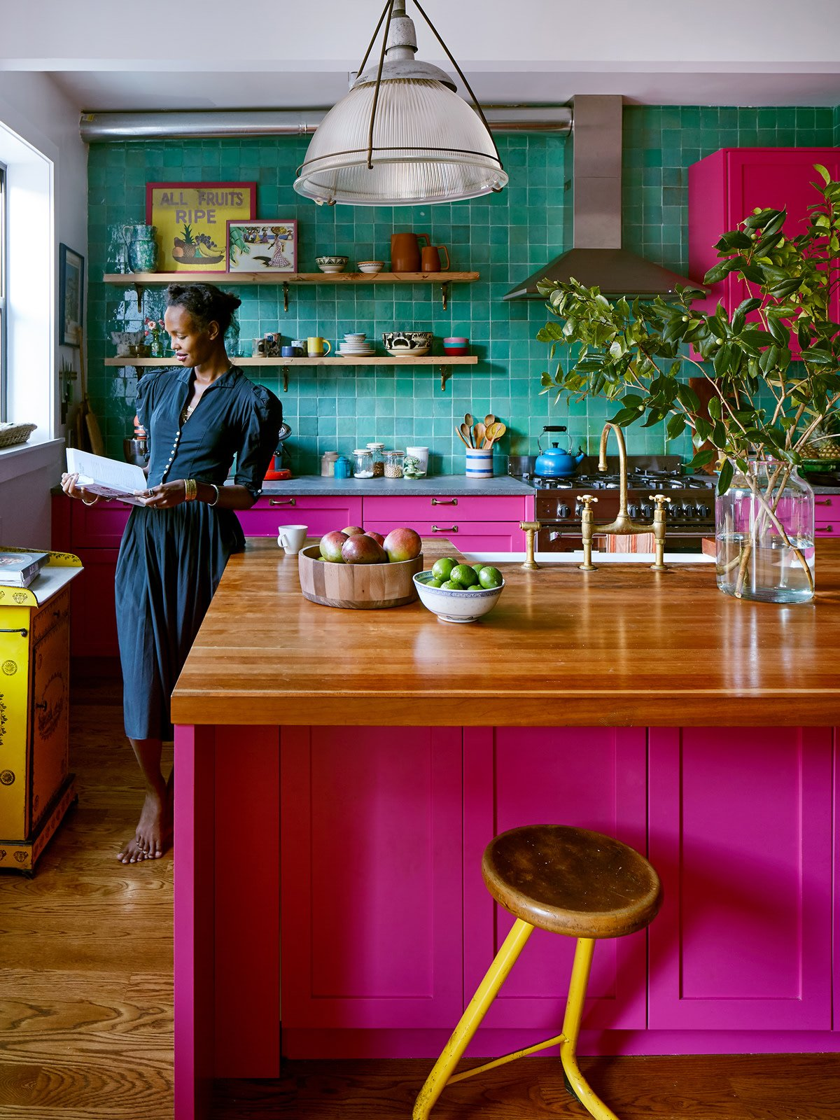 Goop Editor Megan O'Neill's Brooklyn Brownstone Channels Her Jamaican Roots