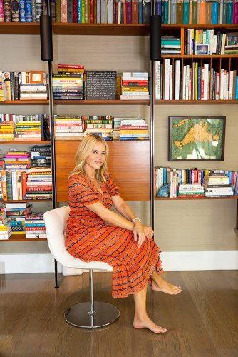 Chelsea Handler's Shape-Shifting Bookshelves Adapt to Fit Every Room