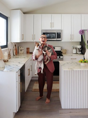 How One Couple Revamped Their Builder-Grade Kitchen Without Touching the Cabinets