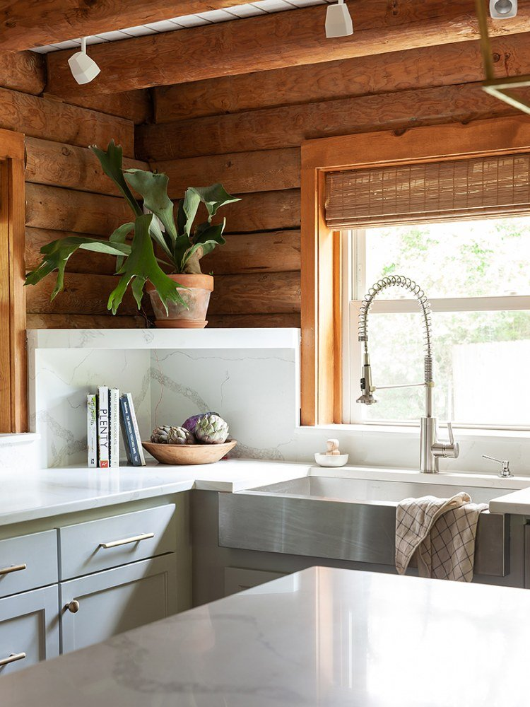 Craving Calm? Light Gray Kitchen Cabinets Is the Way to Go
