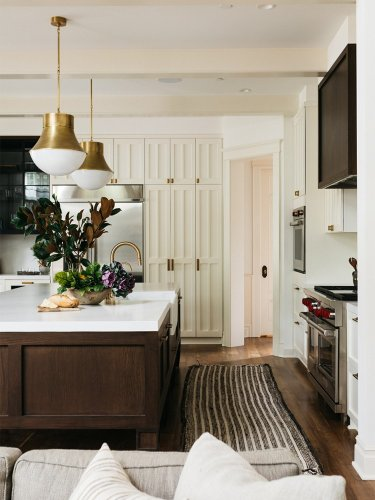 3 Kitchen Cabinet Styles Are Better Than 1—Give This Craftsman-Inspired Trio a Try