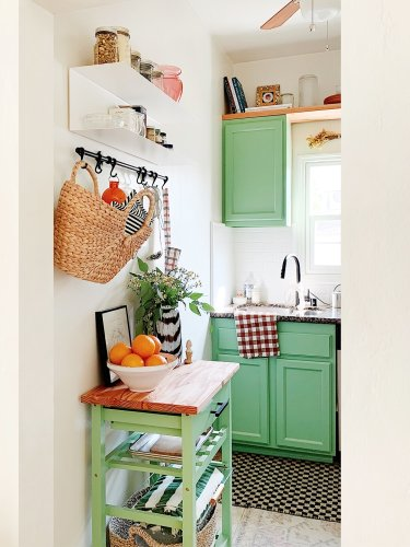Don't Let This Sneaky Storage Spot Go to Waste in Your Rental Kitchen