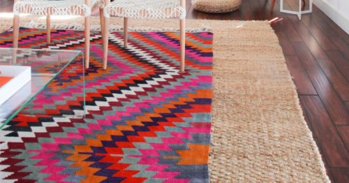 This Simple Rug Styling Tip Makes Any Room Look Elevated—Instantly