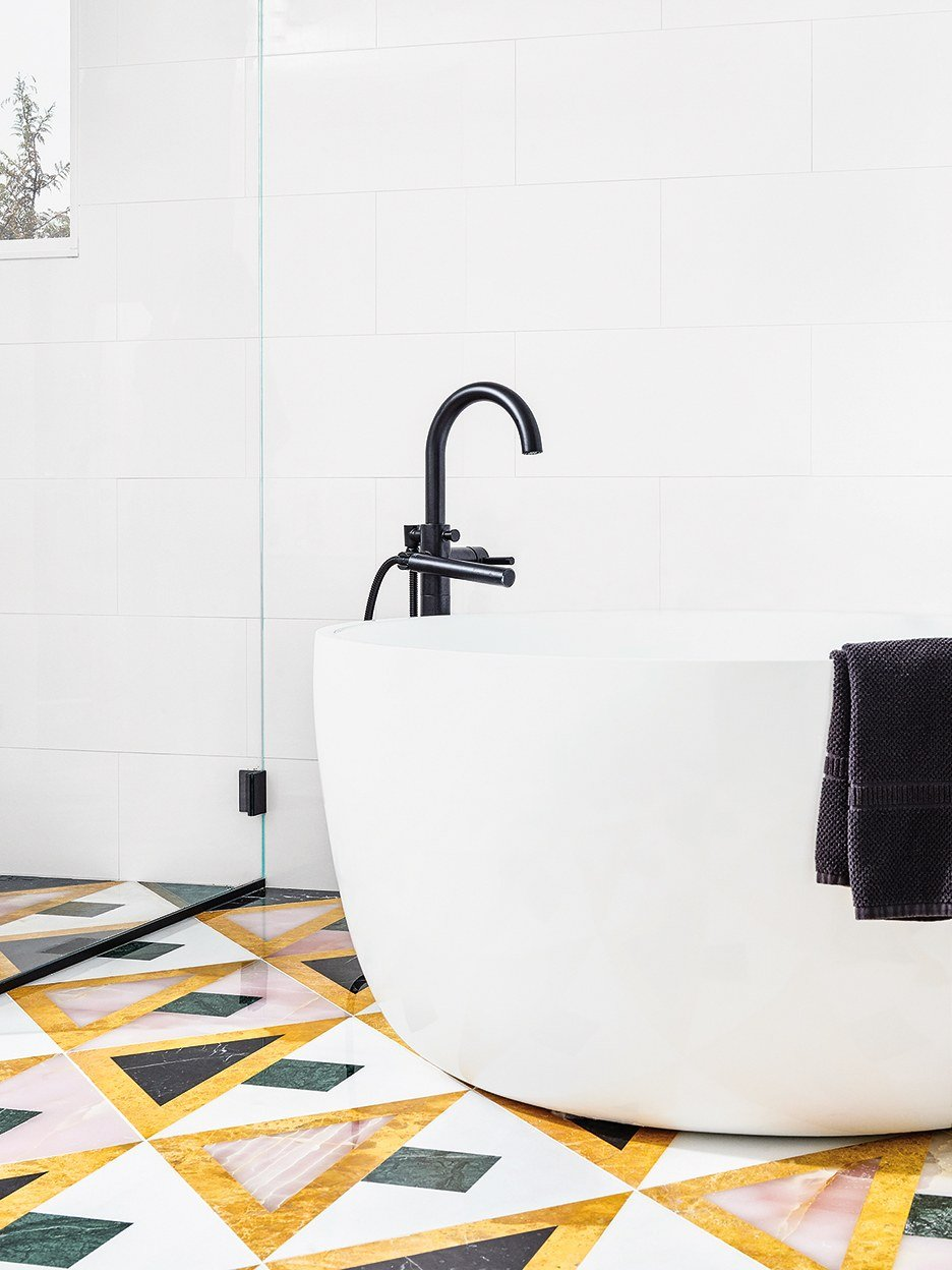 7 Designers Weigh in on the Best Tile for Bathroom Floors