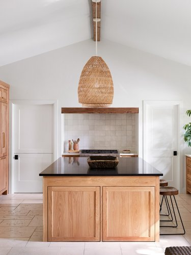 With Some Serious Rearranging, This Texas Home's Den Became the Kitchen