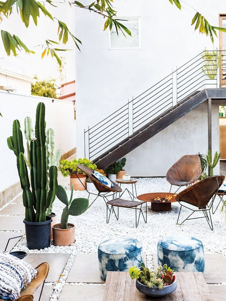 Goodbye, Outdoor Furniture Sets; Hello, Mixing and Matching
