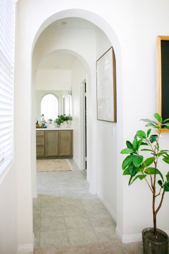 The (Almost Too) Easy Way to Turn Your Plain Square Hallways Into Archways