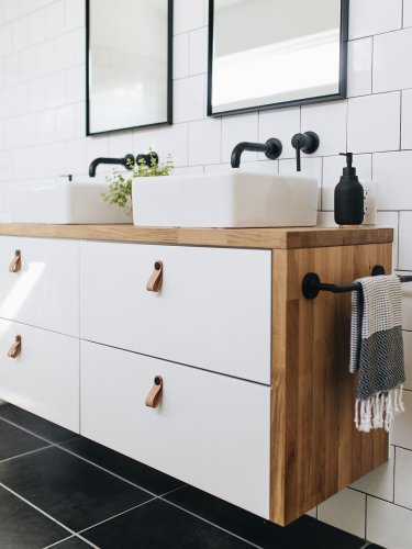 12 Bathroom IKEA Hacks That Actually Work in Small Spaces