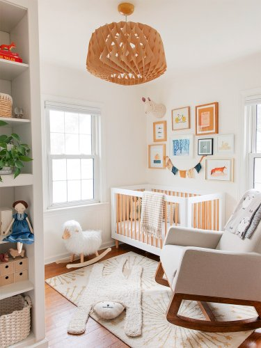 Two $80 IKEA Units Combine and—Poof!—a Storage-Friendly Nursery Is Born