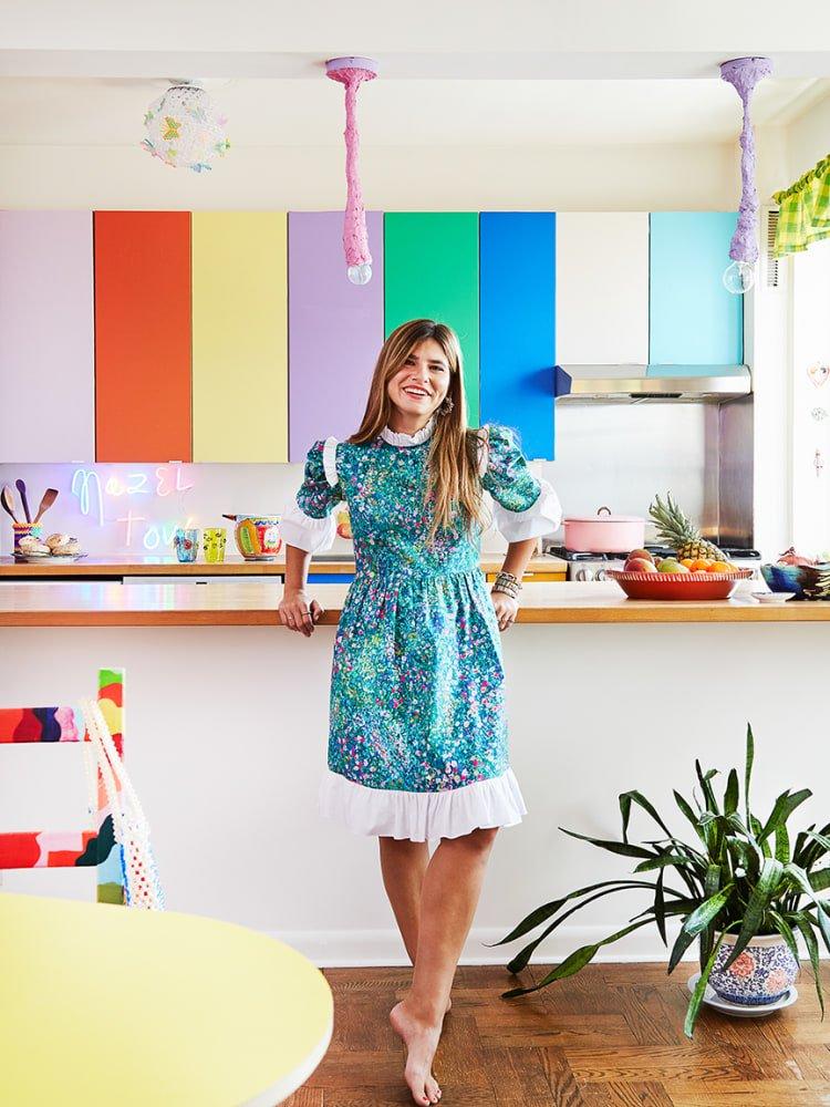 Designer Susan Alexandra Completely Changed Her Rental Kitchen for Only $600