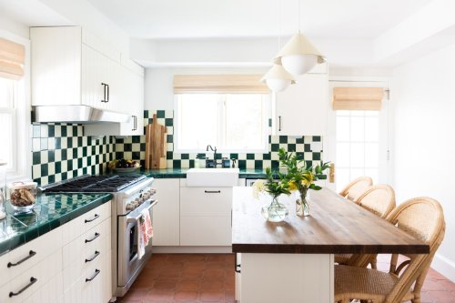The Charming Kitchen That Changed Our Mind About This Countertop Style