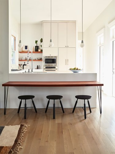The Standard Kitchen Base Cabinet Height for Comfortable Cooking—And Resale