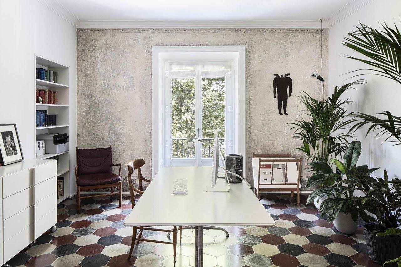La casa di un illustratore a Milano assomiglia ai suoi disegni