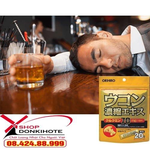 Bột giải rượu Nhật Bản - cover