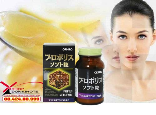 5 công dụng tuyệt của sữa ong chúa Nhật Bản Orihiro 3000mg - 90 Viên