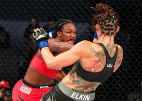 PFL 4 Results – Claressa Shields Makes Victorious MMA Debut, Stops Brittney Elkin In Third – DopeClics