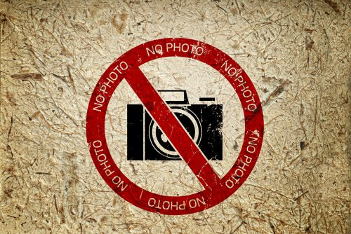 Photographing When It's Forbidden