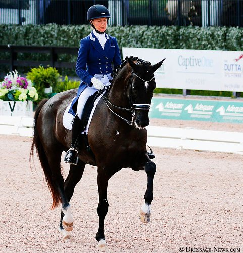 Alice Tarjan Rides Candescent to Personal Best Score to Win Wellington CDI3* Grand Prix Special, First Big Tour Win for Amateur Rider