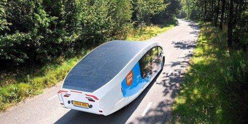 Stella Vita: Das erste solarbetriebene Wohnmobil der Welt
