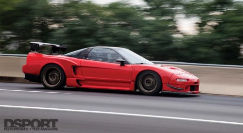 376 WHP Supercharged Acura NSX
