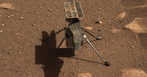 Mars helicopter can't fly until it gets a software update, NASA says