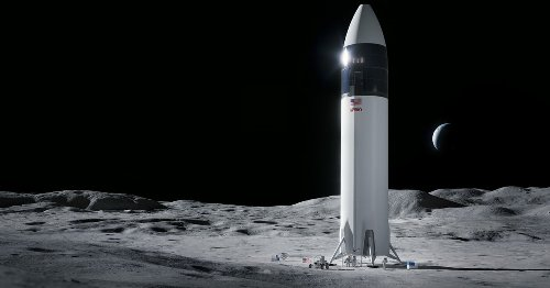 SpaceX will develop the lander to carry NASA astronauts to the moon
