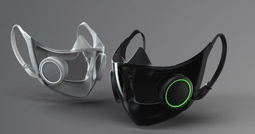 Razer's high-tech face mask filters air and amplifies your voice, Bane-style