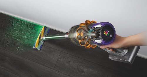Yes, Dyson's newest vacuum uses a green laser to see what you can't