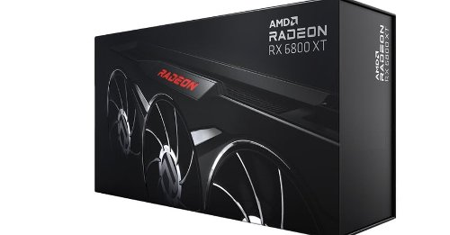 AMD released a beautiful blacked-out graphics card, but you can't buy it yet