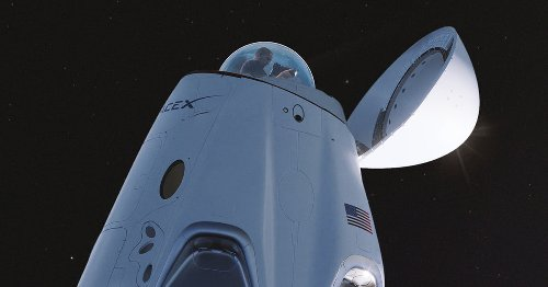 SpaceX Crew Dragon spacecraft to get a glass dome for panoramic views