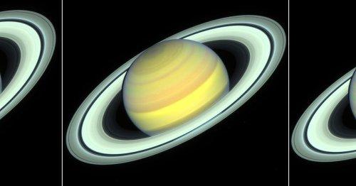 Hubble captures seasonal weather changes on Saturn