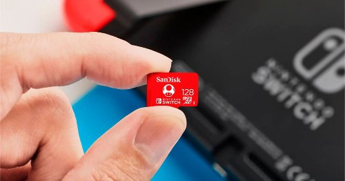 The best SD cards for the Nintendo Switch