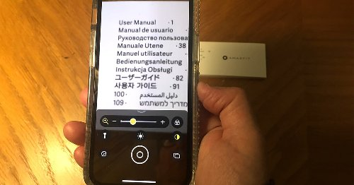 How to use iOS 14's Magnifier app