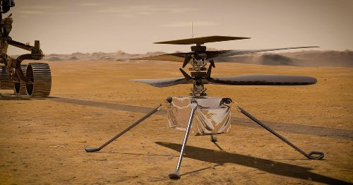 Mars helicopter Ingenuity is getting ready for its first flight