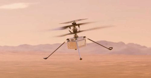 Watch how NASA plans to deploy the first-ever Mars helicopter