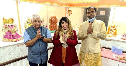 WATCH: Dublin's Hindu community hosts Durga Puja celebrations at cultural centre