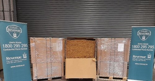 Crime gang stung after €2m worth of smuggled tobacco found in box at Dublin Port
