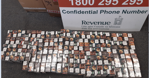Dublin Airport seizure as 100k smokes uncovered in 'medical equipment' boxes