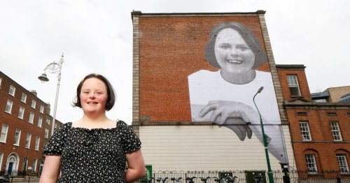 Striking new mural unveiled in Dublin city centre for a brilliant cause