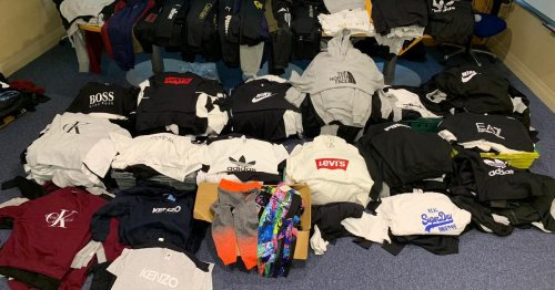 Gardai seize hundreds of counterfeit clothing in Dublin raid
