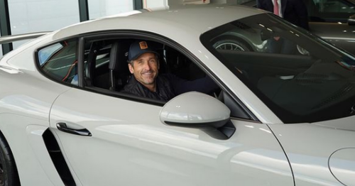 Patrick Dempsey continues Ireland adventure with iconic Dublin chipper trip