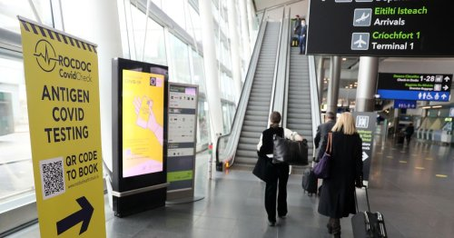 Dublin Airport update as contact tracing plane passengers no longer required