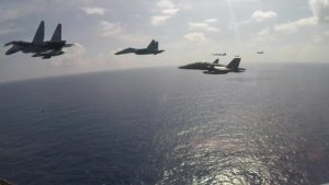 The Theodore Roosevelt Carrier Strike Group and Royal Malaysian Air Force