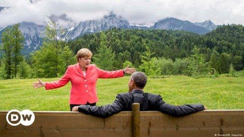 """""""Lichtgestalt, Ruhepol, Freundin"""" - Abschiedsworte zu Angela Merkel"""
