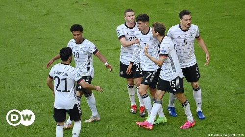 JUST IN: Germany beats titleholder Portugal 4-2 at Euro 2020