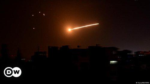 Syrische Staatsmedien melden israelische Raketenangriffe