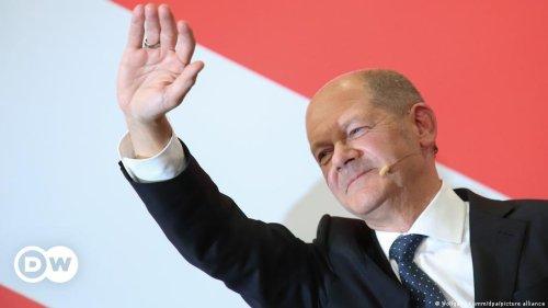 Bundestagswahl: Scholz sichert SPD Platz 1