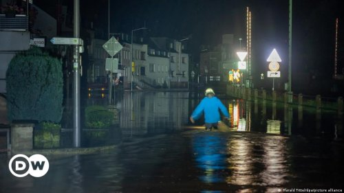 Germany floods: Four dead, 30 missing as storms lash western states